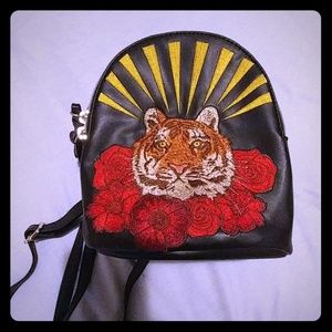 07c9c9d9b7199 Wild Fable Bags - Wild Fable Target Tiger Rose Mini Backpack Black